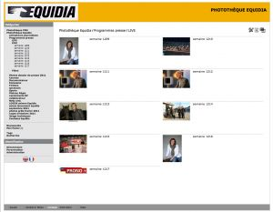 Mediatheque Equidia