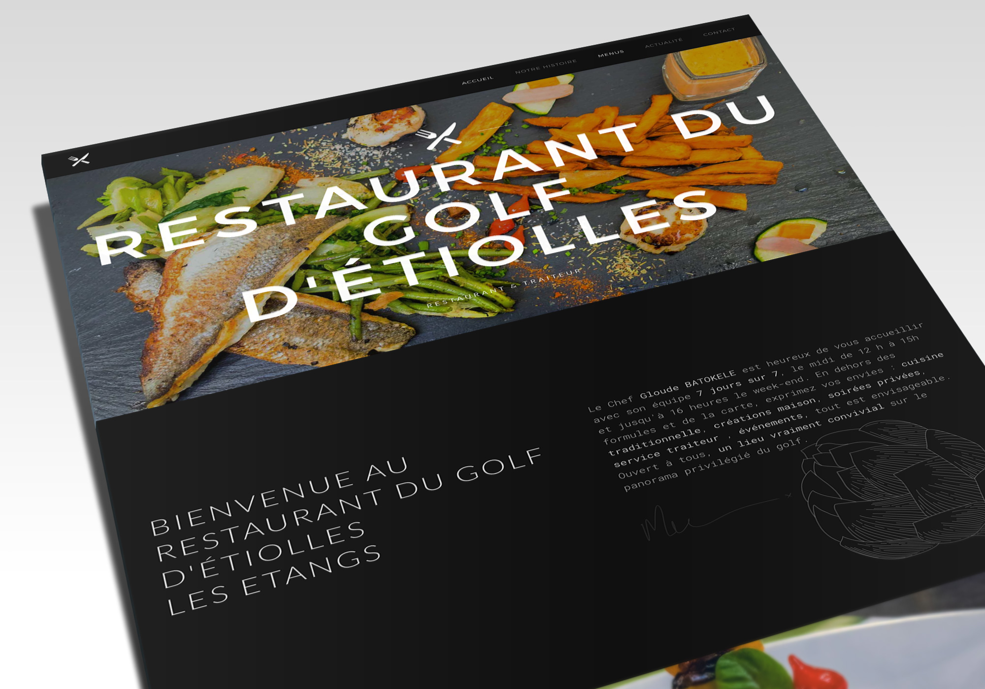 Restaurant Golf Etiolles